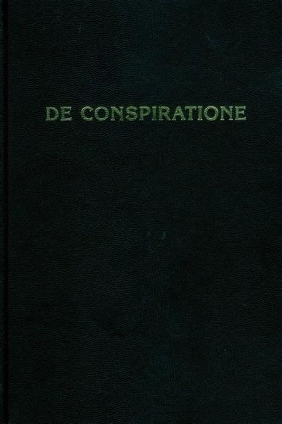 De Conspiratione\ О заговоре